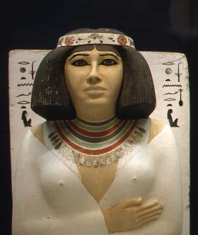 Southampton female ancient egyptian statue